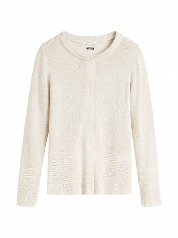 Cardigan Long Sleeves - Mushroom /