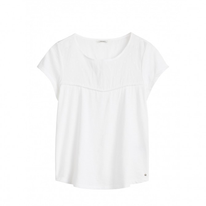 Romantisches T-Shirt - Pure White /