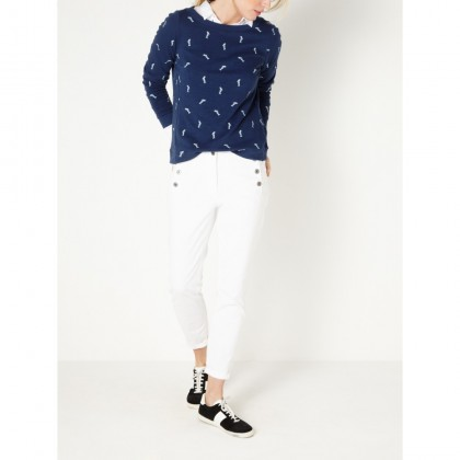Sweater mit Fischprint - Intense Ocean /