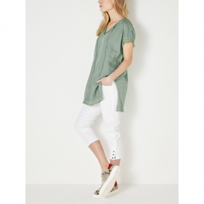 Bohemien Bluse - Hedge Green /