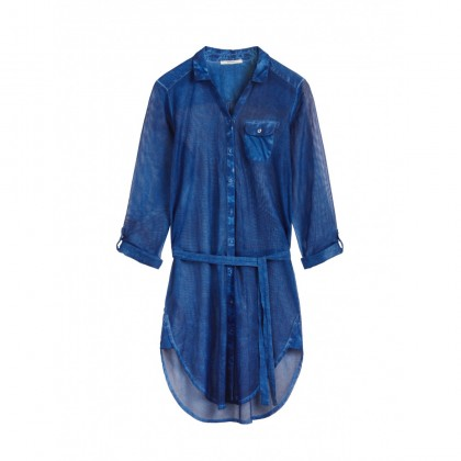 Statement-Bluse - Intense Ocean /
