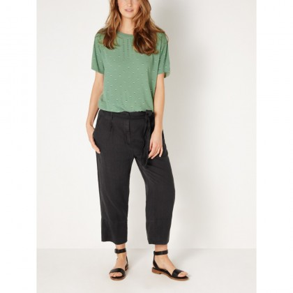 T-Shirt mit All-over-Print - Hedge Green /