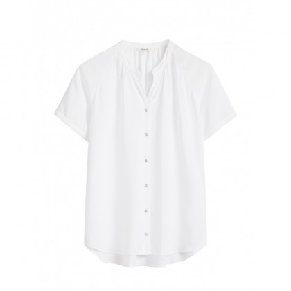 Luftiges Shirt - Pure White /