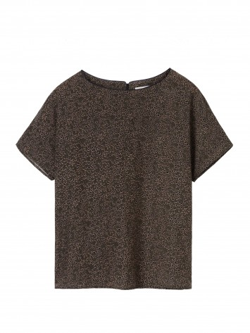 All-over-Print Top - Dark Olive /