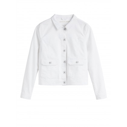 Denim Jacke - White Denim /