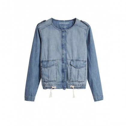 Jeansjacke - Medium Blue Denim /