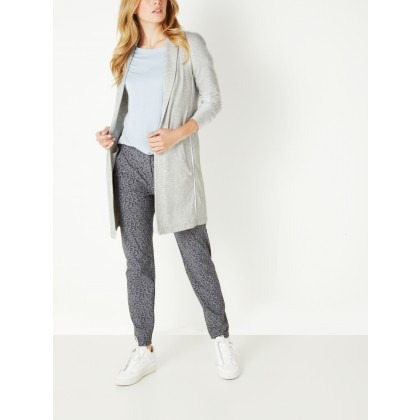 Langer Blazer - Light Grey /