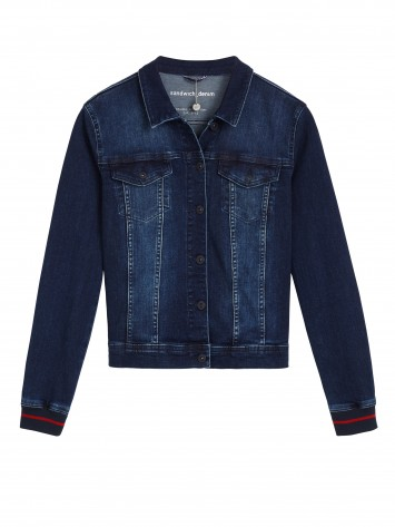 Jeansjacke - Blue Denim /