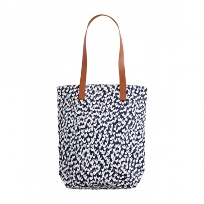 Tasche mit All-over-Print - Navy /