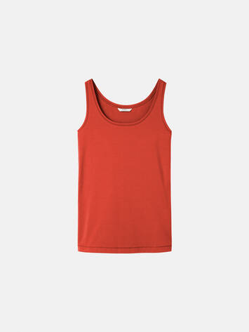 Einfarbiges Singlet - Burned Red /