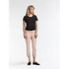T-Shirt mit All-over-Sternmuster - Black /