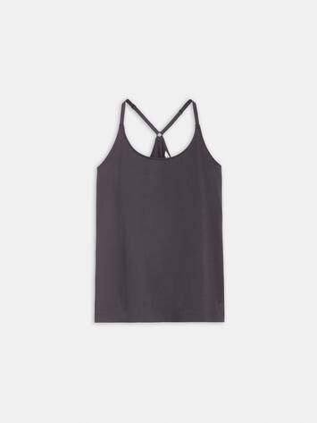Tank top with thin straps /