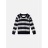 Sweater mit Lace-Up - Maritime Blue /