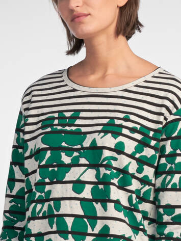 Sweater mit Print-Mix /