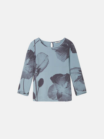 Top mit Blumenprint /