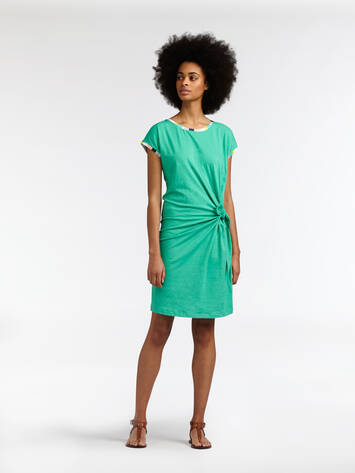 Dress with button detail - Jolly Green /