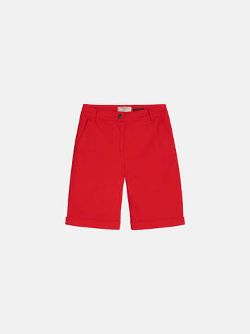 Skinny Shorts - Pop Red /