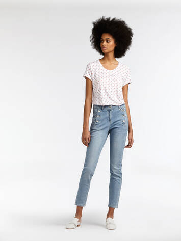 High Waist Skinny - Light Blue Denim /