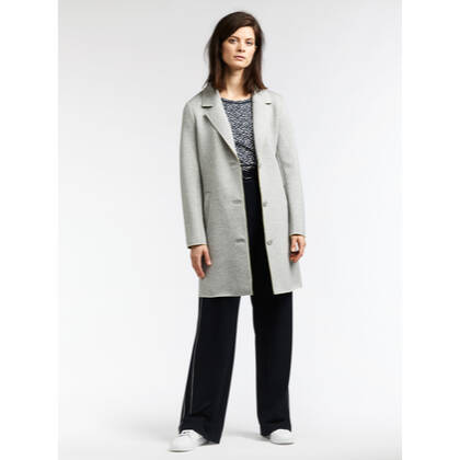 Langer Double-Face-Blazer - Fresh Grey HTR /