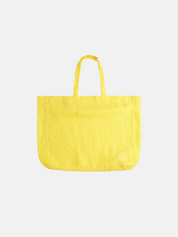 Leinen Shopper - Blazing Yellow /